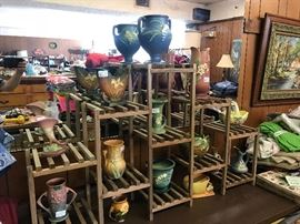14 piece Roseville pottery collection