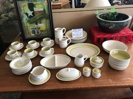 Franciscan Green Medallion dishes
