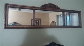 Antique Mirror (heavy) bought in Duluth Minnesota auction 1980's