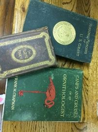 Many old books from early 1900s