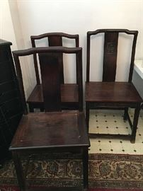 Chinese 19th Century Side Chairs