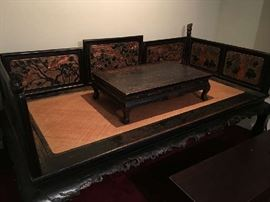 19th Century Chinese Ching Dynasty Bed
