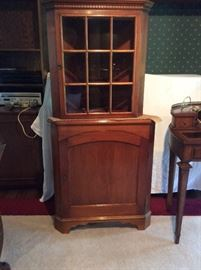 Alfred Assid 2 pc. corner cabinet