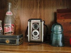 Lots of antiques like this camera