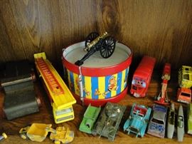 Old and antique toys