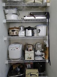 Lots of Kitchen Appliances