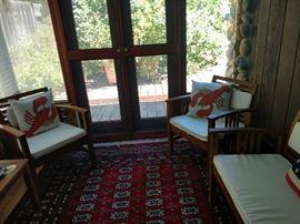 Patio set chairs