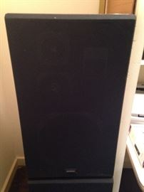 One of two new Kenwood speakers