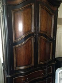 Lovely armoire can be for clothing or entertainment