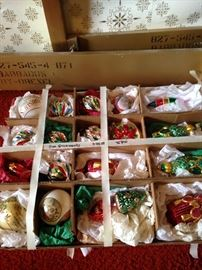 Huge selection of ornaments