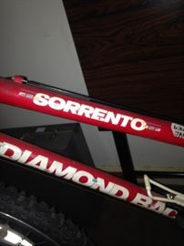 Diamondback Sorrento bicycle