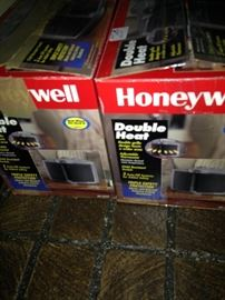 Double heat Honeywell heater