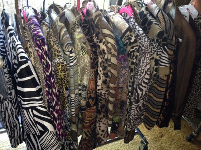 Darling animal print jackets