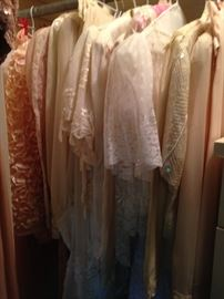 Vintage linen and lace clothing