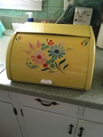 Mid century bread box
