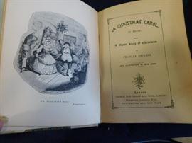 Christmas Carol 1800's book