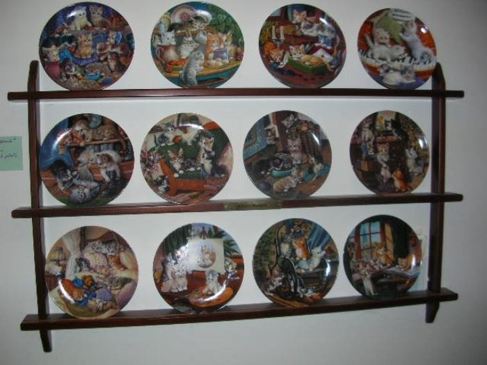 Cat plate collection