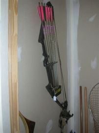 High power bow and arrows