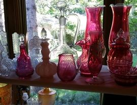 Bohemian glass, crystal