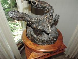 Detail of C. Wagner Eagle