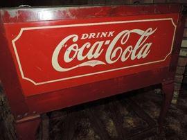 COCA-COLA Cooler Detail