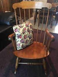 Nichols and Stone Windsor Rocking Chair