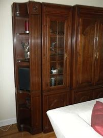 Harden Entertainment Center and Cabinet