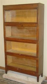 Macey 4 Stack Lawyers Bookcase