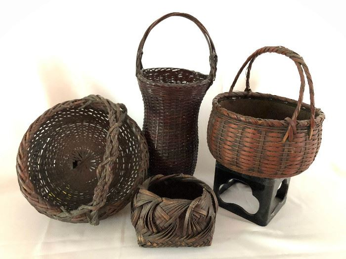 Early 20th Cent. Japanese Baskets
