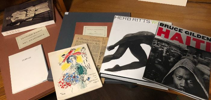 Rare Art & Other Books Incl Gardening & Photography