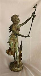 Bronze w/ Verde Patina