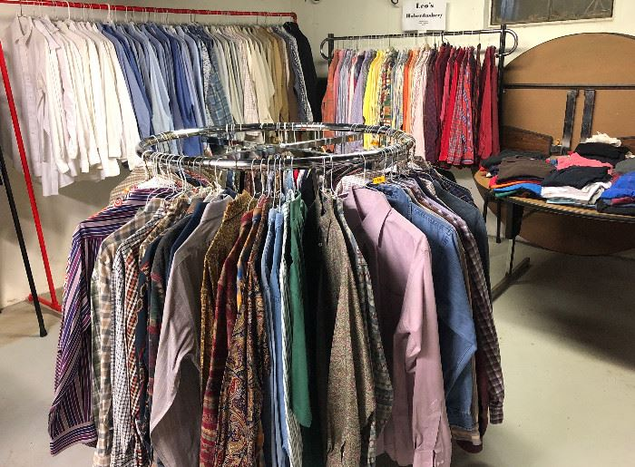Welcome to Leo's REALLY BIG Closet. More Than Shown