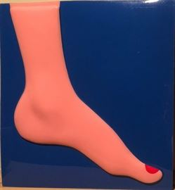 Tom Wesselmann (Amer. 1931-2004), Seascape (Foot), 1967, Vacuum-Formed Plexiglas
