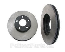 OP Parts Front Brake DiscDrum For Volkswagen Pass ...
