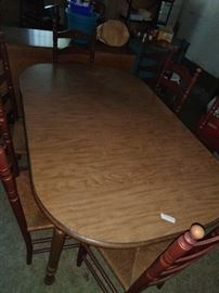same table with chairs