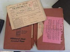 War Ration books