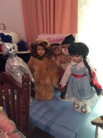 Madam Alexander Wizard of Oz dolls