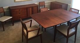 MCM Danish Dining Set / Founders by Jack Cartwright