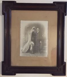 Antique Family Photo with Great Frame
