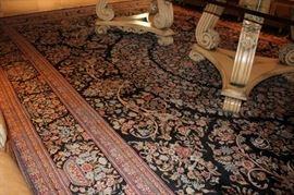 Handmade Safavieh Silk and Wool Blend Aubusson Rugs