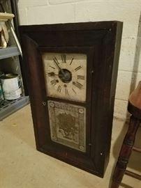 antique case clock
