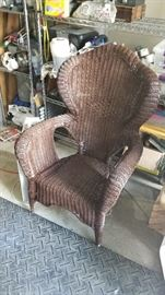 Outdoor wicker furniture - more available