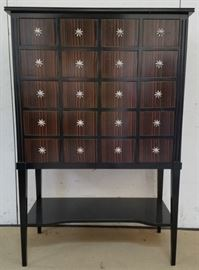 Polidor apothecary 20 drawer cabinet
