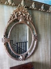 1 OF MANY ORNATE MIRRORS