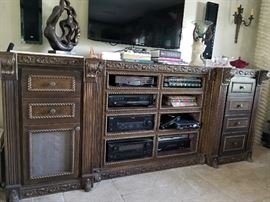 LG. CABINET FOR ELECTRONICS OR WINE CELLAR