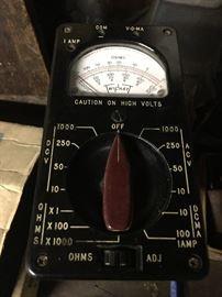 Vintage Triplett Voltmeter!