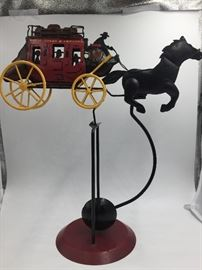 Wells Fargo Stage Coach Collectible Balance Toy