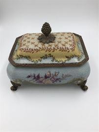 Antique China Jewelry Box