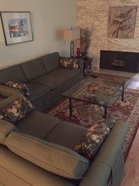 Retro Sofas with slipcovers