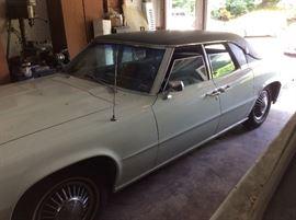 1968 Thunderbird.  Runs / has the title